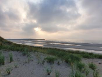 Sfeer - Nieuwpoort ~ De IJzermonding (West-Vlaanderen) - 16-08-2020 ©Steve Wullaert